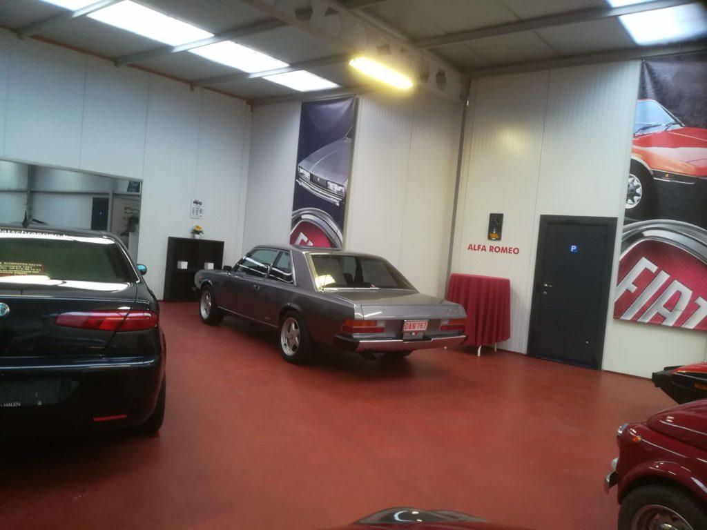 FIAT Garage Schraepen